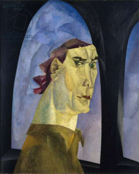 Self-Portrait, 1915 (oil on canvas)