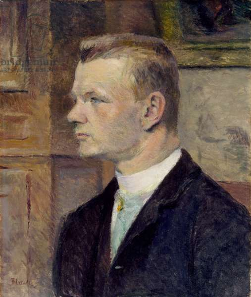 Frederick Wenz, c.1888 (oil on canvas)