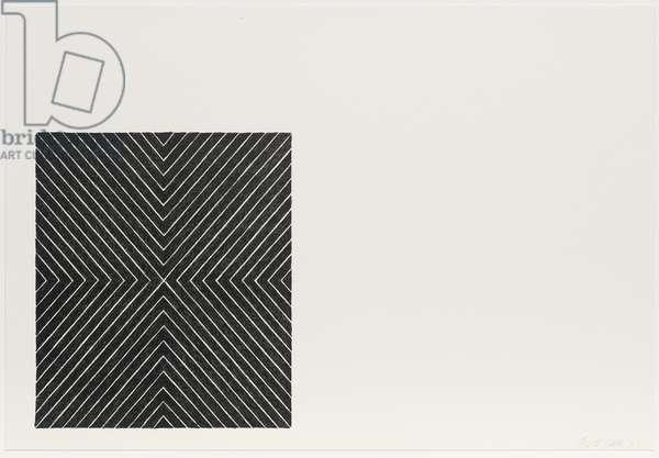 Zambesi, from the Black Series II, 1967 (litho)