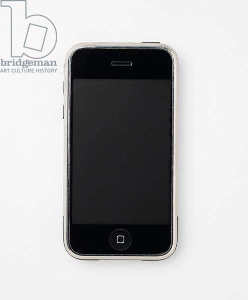 iPhone 1, 2007 (metal, plastic & electronics)
