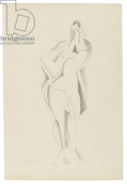 Untitled XII, c. 1921-1923 (graphite on paper)