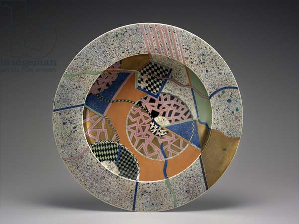 Platter, 1984 (earthenware)