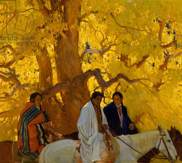 Passing By, c.1924 (oil on canvas)