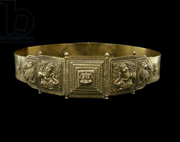 Belt, 19th century (gold)