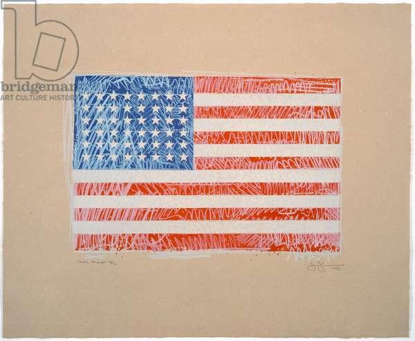 Flag, 1967 (colour litho)