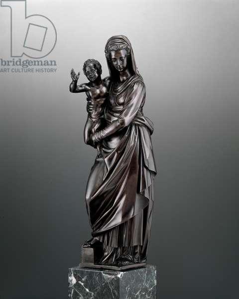 Virgin and Child, c.1600 (bronze)