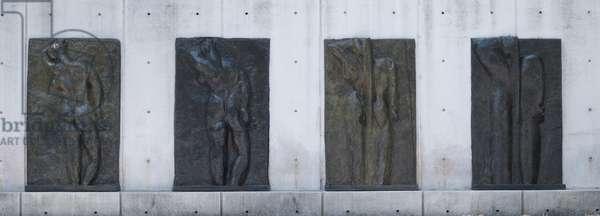 Back I, 1909, Back II, 1913, Back III, 1916-17 and Back IV, 1930 (bronze)