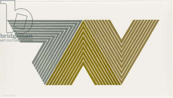 Quathlamba II, 1968 (lithograph in colors on wove paper)
