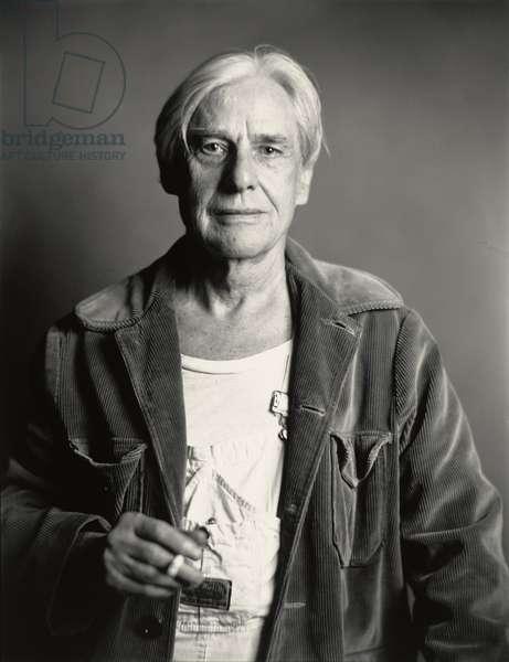 Willem de Kooning, 1981 (gelatin silver print)