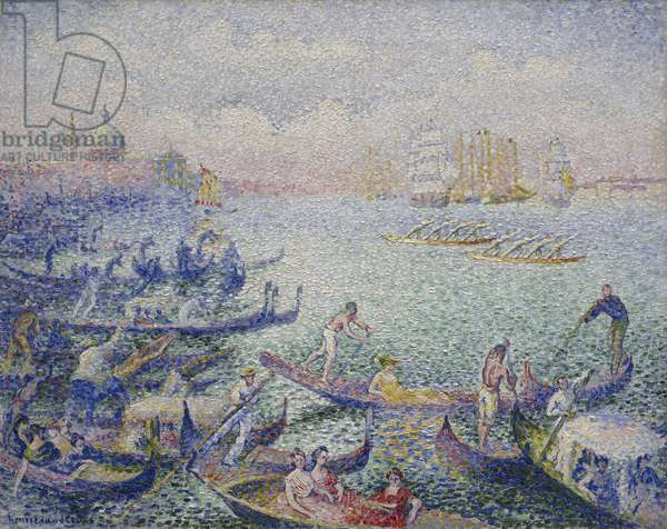 Regatta in Venice, September 1903 - January 1904 (oil on canvas)