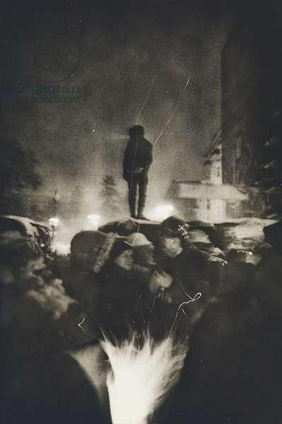 Euromaidan, 2014 (gelatin silver print)