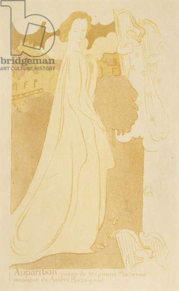 Apparition  , 1894 (lithograph in colours)