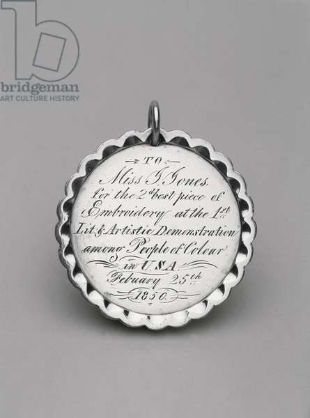 Medal, c. 1850 (silver)
