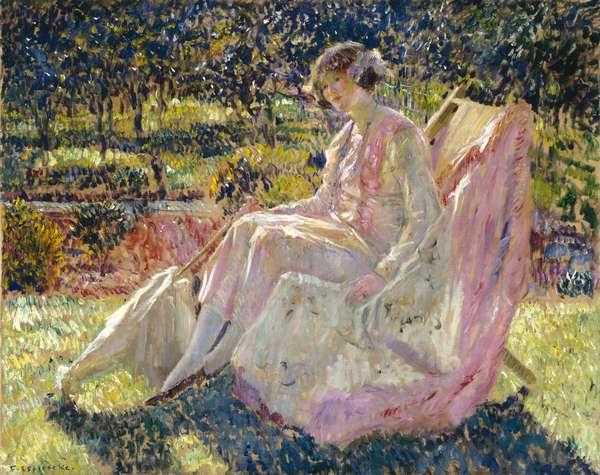 Sunbath, c.1913 (oil on canvas)