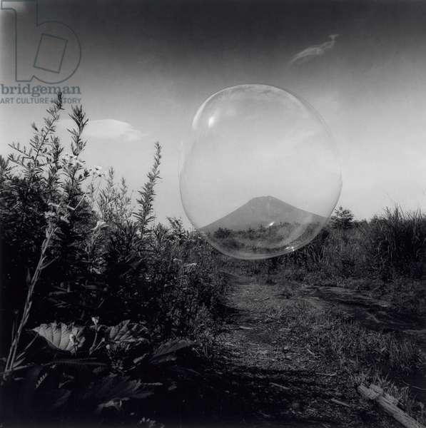 Mt. Fuji, Japan, Summer 1999 (gelatin silver print)
