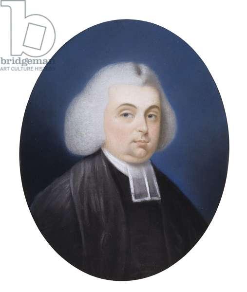 Portrait of the Reverend James Diman, 1760s (pastel on paper)