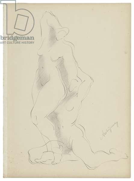 Untitled VI, c. 1921-1923 (graphite on paper)
