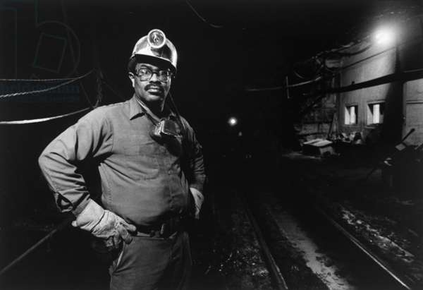 James Shelton, Jr., Coal Miner, 1990 (gelatin silver print)