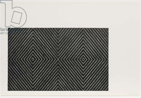 Delphine and Hippolyte, from the Black Series II, 1967 (litho)