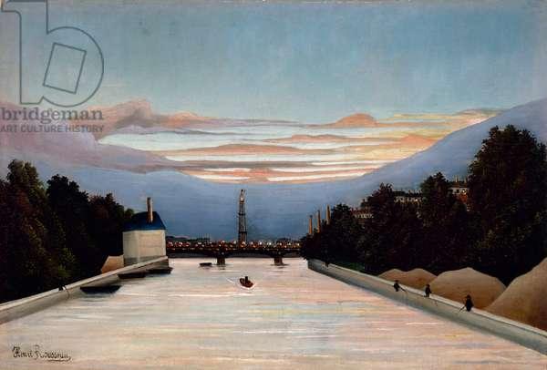 The Eiffel Tower, c.1898 (oil on canvas)