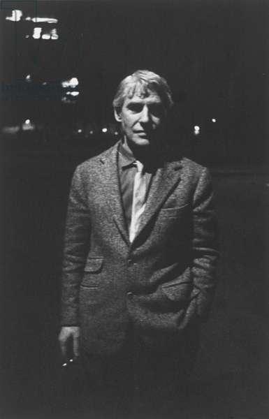 Willem de Kooning, c. 1961 (gelatin silver print)