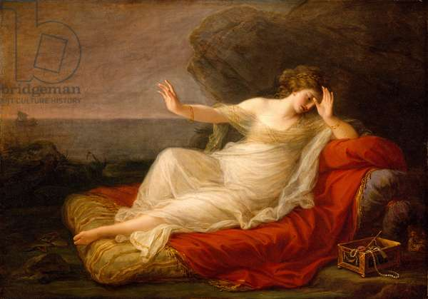 Ariadne Abandoned by Theseus, 1774 (oil on canvas)