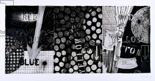 Untitled, 1991 (etching triptych)