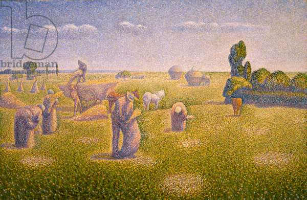 The Harvesters, 1892 (oil on canvas)