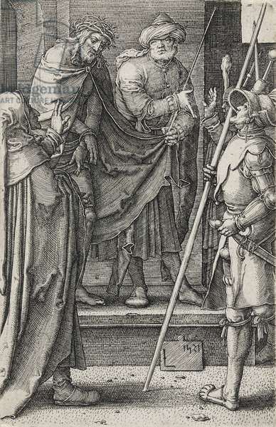 Ecce Homo, 1521 (engraving on laid paper)