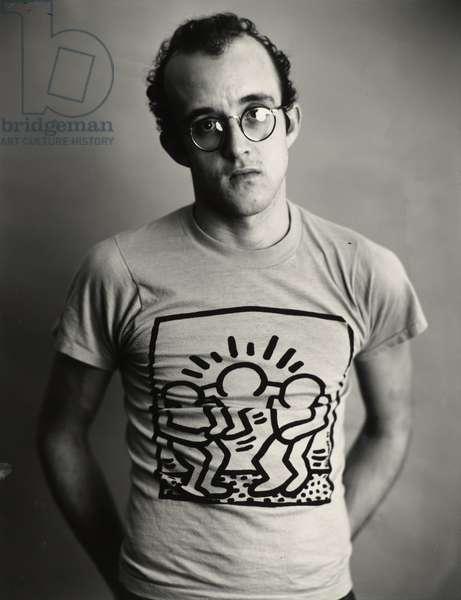 Keith Haring, 1985 (gelatin silver print)