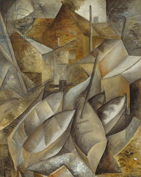 Fishing Boats, 1909 (oil on canvas)