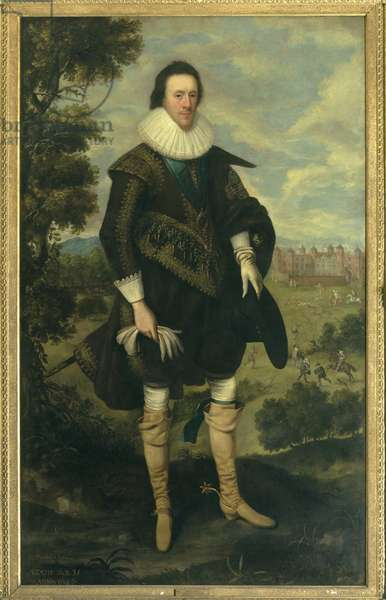 William Cecil, 2nd Earl of Salisbury, 1626 (oil on canvas)