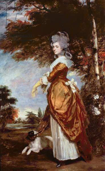 Lady Emily Mary (Hill), Marchioness of Salisbury, 1780 (oil on canvas)