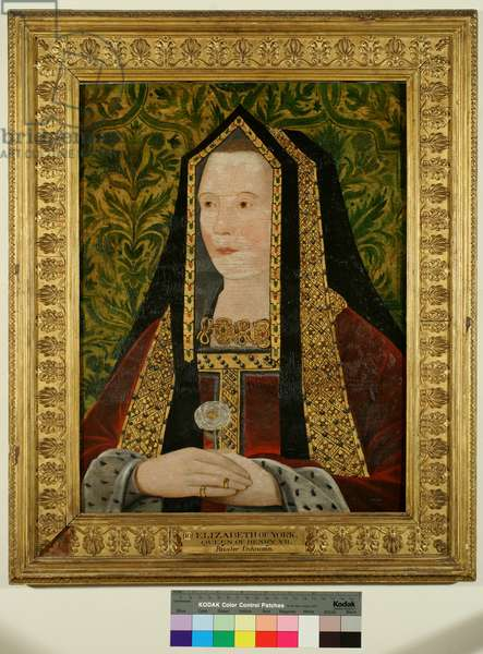 Elizabeth of York, c.1500 (oil on panel)