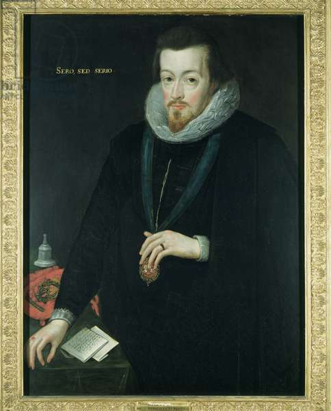 Robert Cecil, 1st Earl of Salisbury, before 1606 (oil on panel)