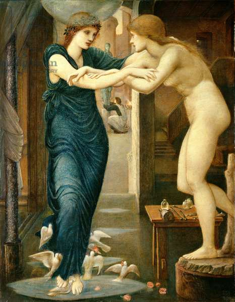 The Godhead Fires, from the 'Pygmalion and the Image' series, 1868-70 (oil on canvas)