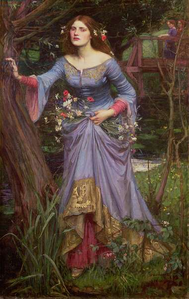 Ophelia, 1910 (oil on canvas)