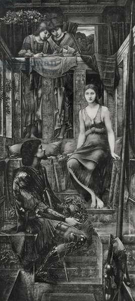 King Cophetua and the Beggar Maid, 1893 (photo-engraving)