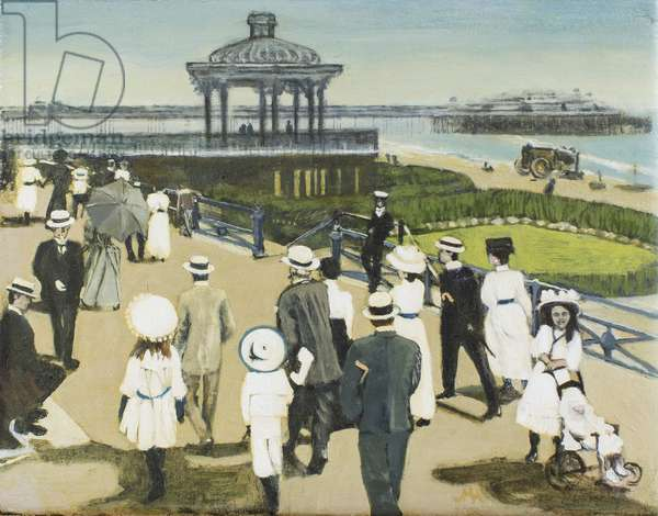 Brighton Bandstand, 2007 (oil on canvas)