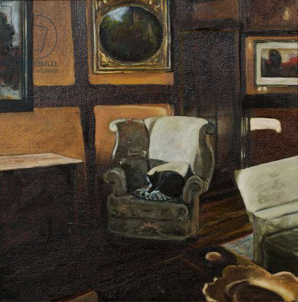 Repose, 2000 (oil on canvas)