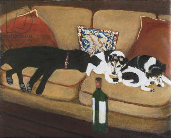 Over the Yardarm, 2009 (oil on canvas)