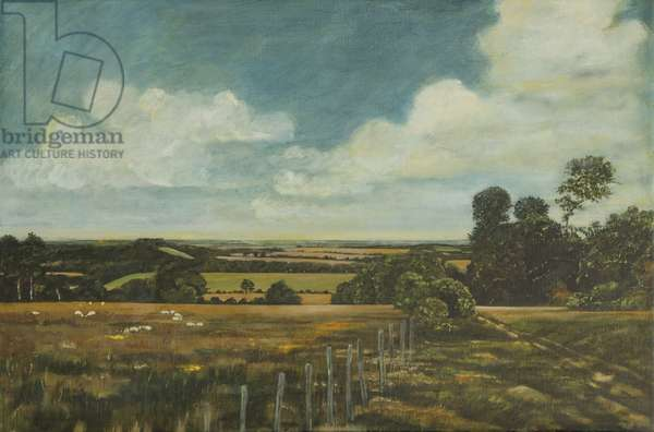 Beside the Roman Road, 1997 (oil on canvas)