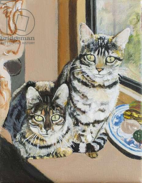 Vigilance, 2004 (oil on canvas)