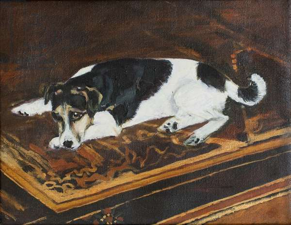 Waiting, 2002 (oil on canvas)