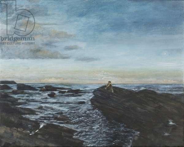 Sarah at Lunan Bay,1998(oil on canvas)
