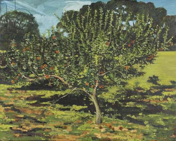 The Apple Tree, 1990 (oil on canvas)