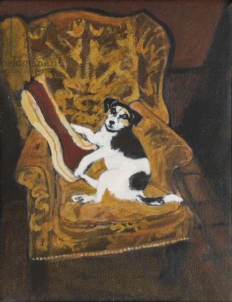 Wesley Reclining, 2003 (oil on canvas)