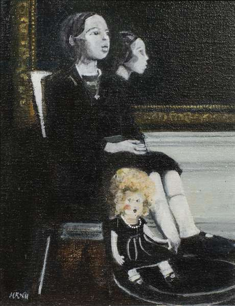 Blanche Leonie, 2006 (oil on canvas)