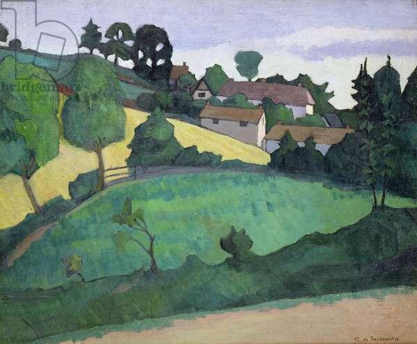 At Church Staunton, Somerset, c.1916