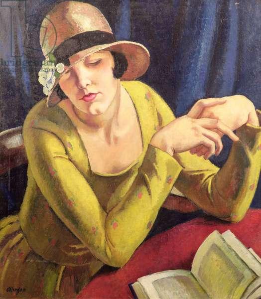 Girl Reading, 1930